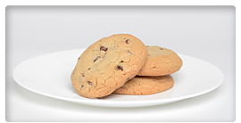 ... in white chocolate and is sure to please old fashioned chocolate chip